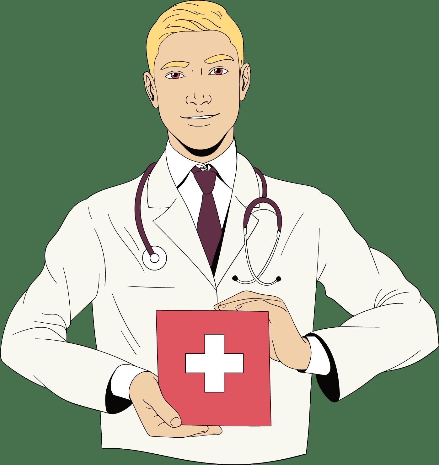 Trousse de premiers soins avec questions