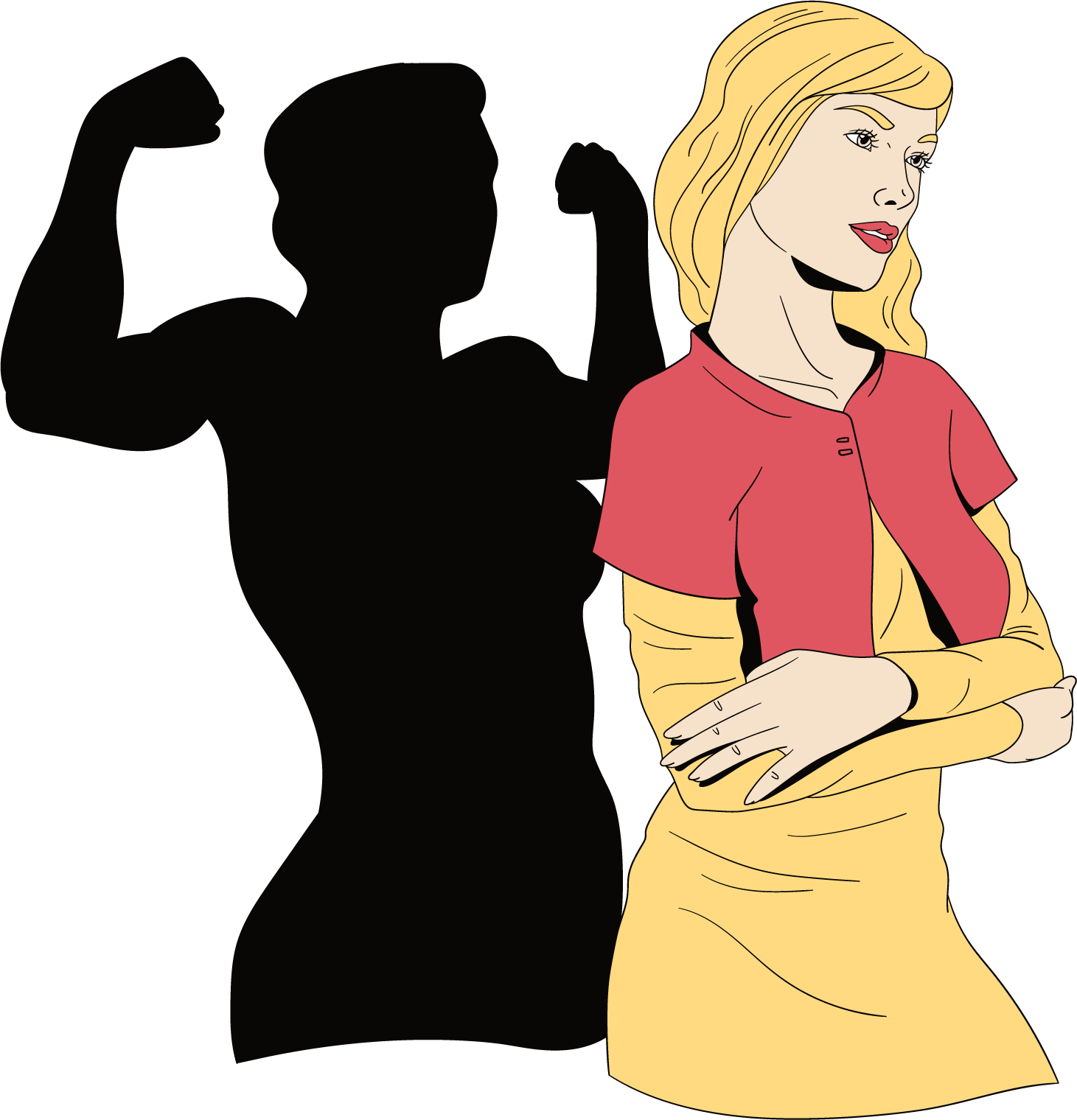 """Une femme forte avec des muscles shadow """"width ="""" 384 """"height ="""" 400 """"srcset ="""" https://mannengeheim.nl/wp-content/uploads/2020/05/Onafpendence-vrouw.png 1461w, https: // mensgeheim .nl / wp-content / uploads / 2020/05 / Femme-indépendante-288x300.png 288w, https://mannengeheim.nl/wp-content/uploads/2020/05/Independent-vrouw-984x1024.png 984w, https : //mannengeheim.nl/wp-content/uploads/2020/05/Onafpendence-vrouw-144x150.png 144w, https://mannengeheim.nl/wp-content/uploads/2020/05/Independent-vrouw-62x65. png 62w, https://mannengeheim.nl/wp-content/uploads/2020/05/Onafpendence-vrouw-211x220.png 211w, https://mannengeheim.nl/wp-content/uploads/2020/05/Onafpendence- femme-96x100.png 96w, https://mannengeheim.nl/wp-content/uploads/2020/05/Onafpendence-vrouw-384x400.png 384w, https://mannengeheim.nl/wp-content/uploads/2020/ 05 / Femme-indépendante-433x450.png 433w, https://mannengeheim.nl/wp-content/uploads/2020/05/Independent-vrouw-490x510.png 490w """"tailles ="""" (largeur max: 384px) 100vw, 384 px"""